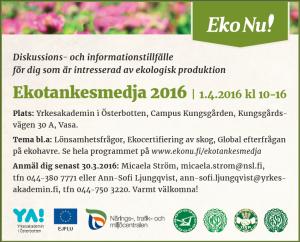 Ekotankesmedja 2016, annons