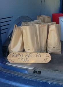 Ronny hade med Potatis från Pojo
