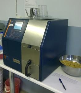 Vår NiT-maskin ger hektoliter, fukt och protein, på korn även stärkelsehalt.